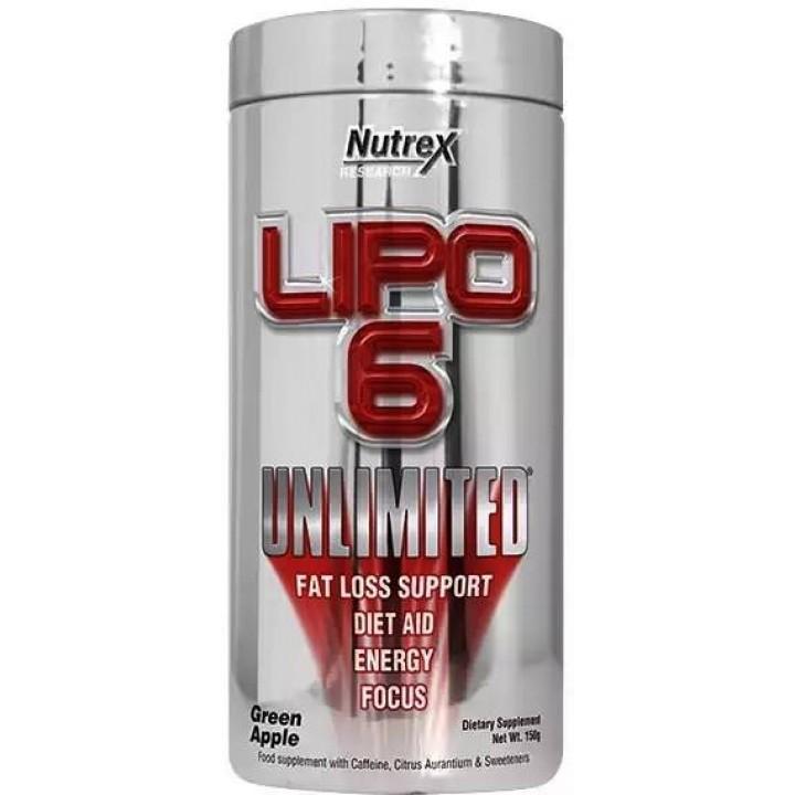 Жиросжигатель Nutrex Lipo-6 Unlimited Powder
