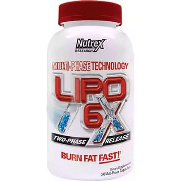 Жиросжигатель Nutrex Lipo 6X Intl