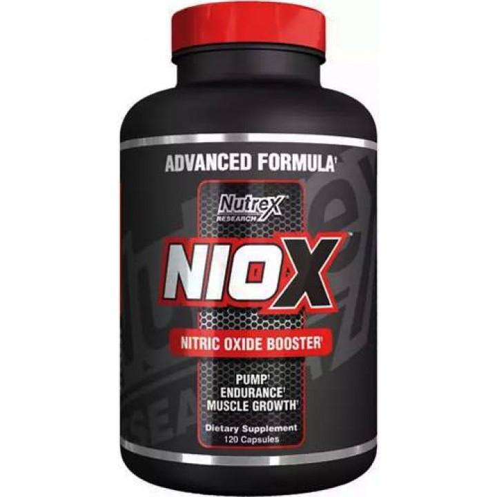 Предтренировочный комплекс NO-бустер Niox от Nutrex