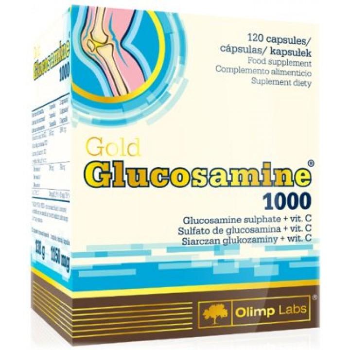 Для связок и суставов Gold Glucosamine 1000 Olimp Labs