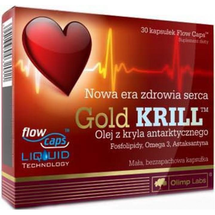 Жирные кислоты омега-3 Olimp Gold Krill