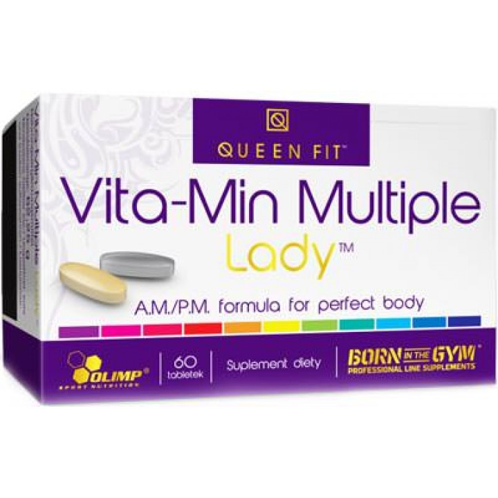 Витамины для женщин Vita-Min Multiple Lady