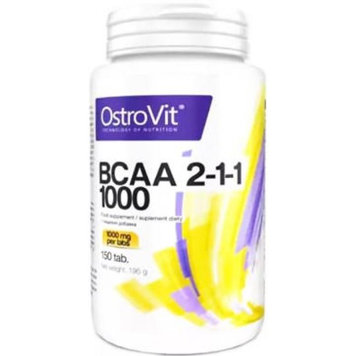 Аминокислоты BCAA 2-1-1 1000 от OstroVit