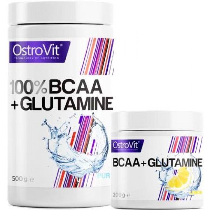 Аминокислоты BCAA + Glutamine от OstroVit
