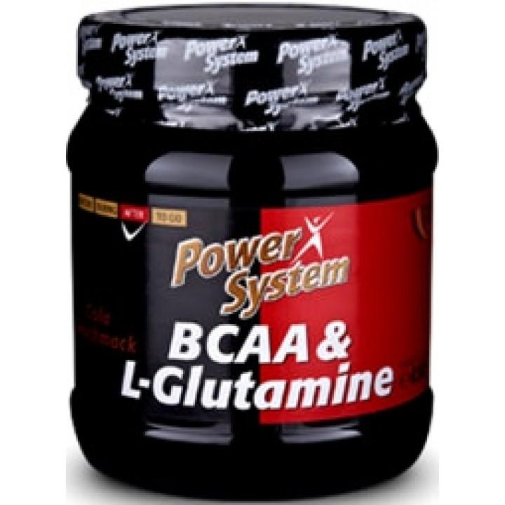 Аминокислоты BCAA L-Glutamine 450 г от Power System
