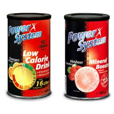Витаминный напиток с карнитином Mineral Booster Low Calorie Drink
