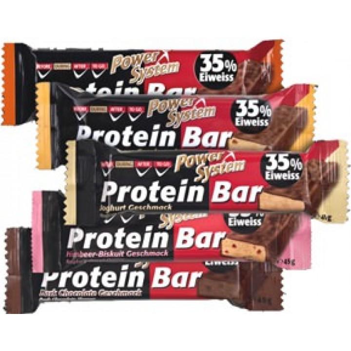 Протеиновые батончики Power System Protein Bar 35%
