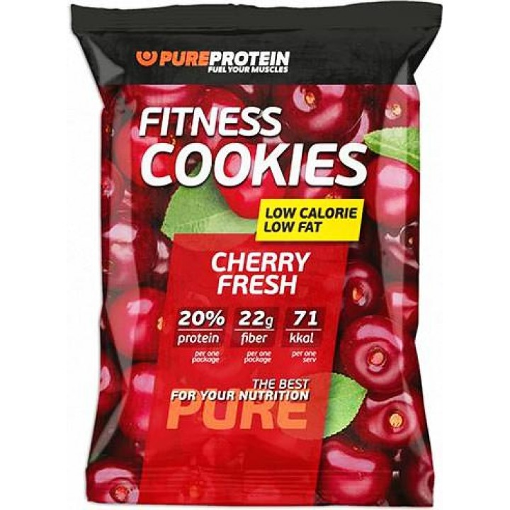 Низкокалорийное печенье PureProtein Fitness Cookies