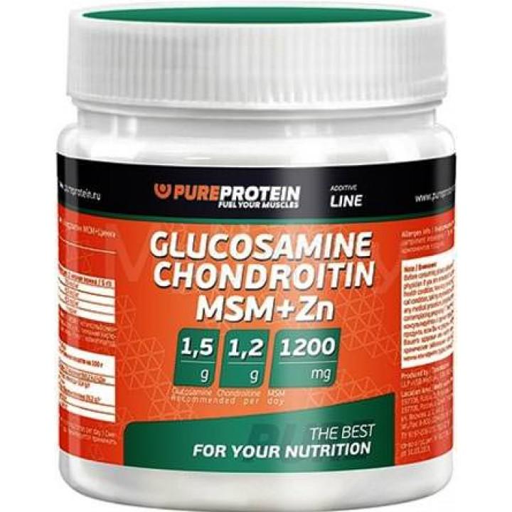 Для связок и суставов Glucosamine Chondroitin MSM+Zn