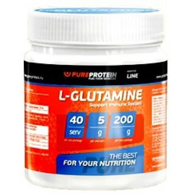 Глютамин PureProtein L-Glutamine Additive Line