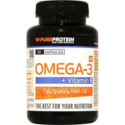 Жирные кислоты Omega-3 + Vitamin E