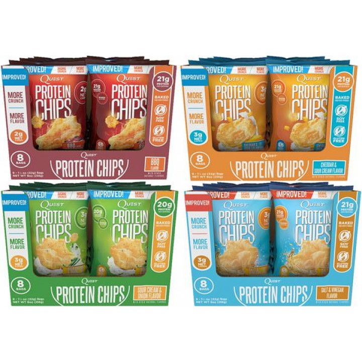 Протеиновые чипсы Quest Nutrition Quest Chips 2.0
