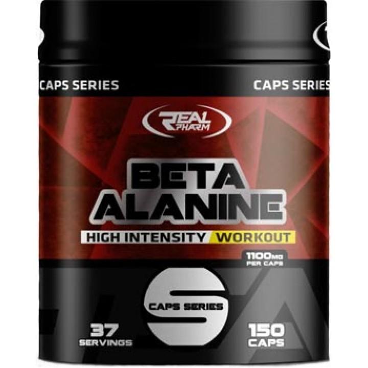 Бета-аланин Real Pharm Beta-Alanine в капсулах