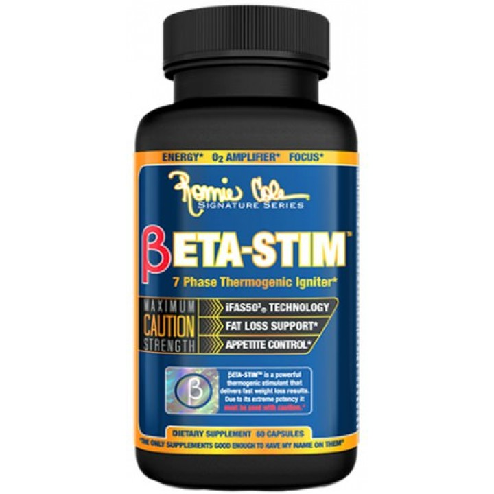 Жиросжигатель Ronnie Coleman BETA-STIM 60 caps