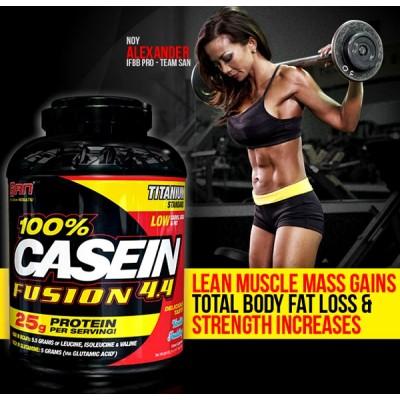 Протеин 100% Casein Fusion