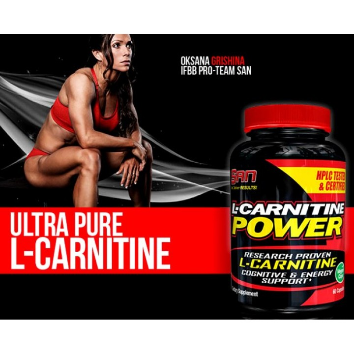 Карнитин SAN L-Carnitine Power (60 капс)