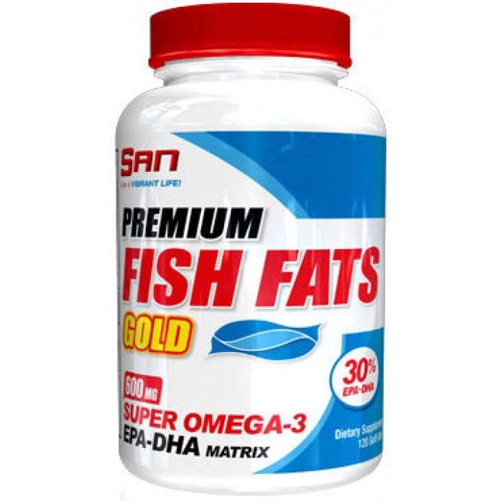 Жирные кислоты Premium Fish Fats Gold