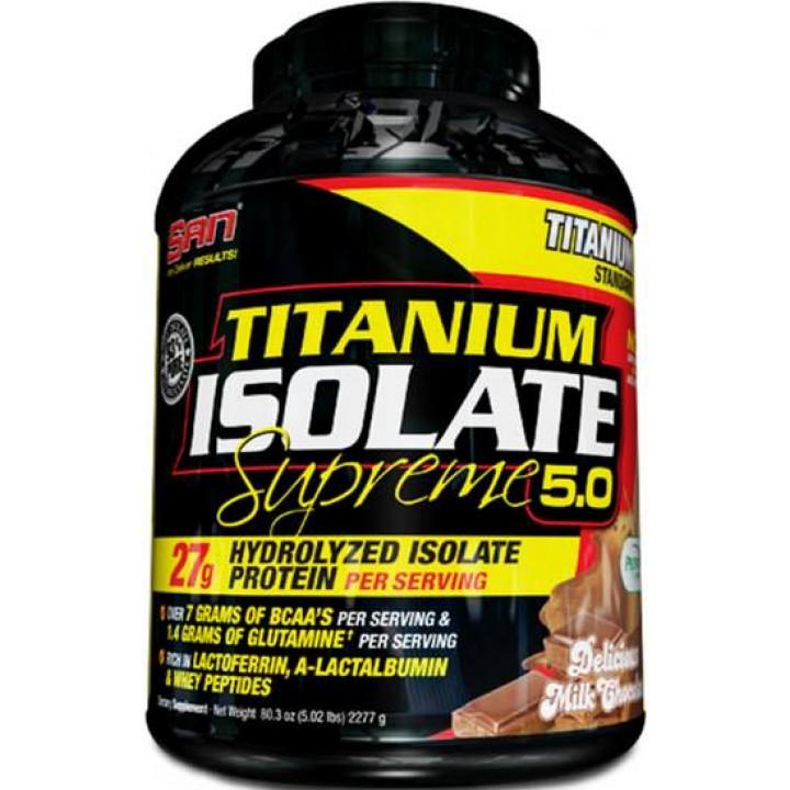 Протеин Titanium Isolate Supreme