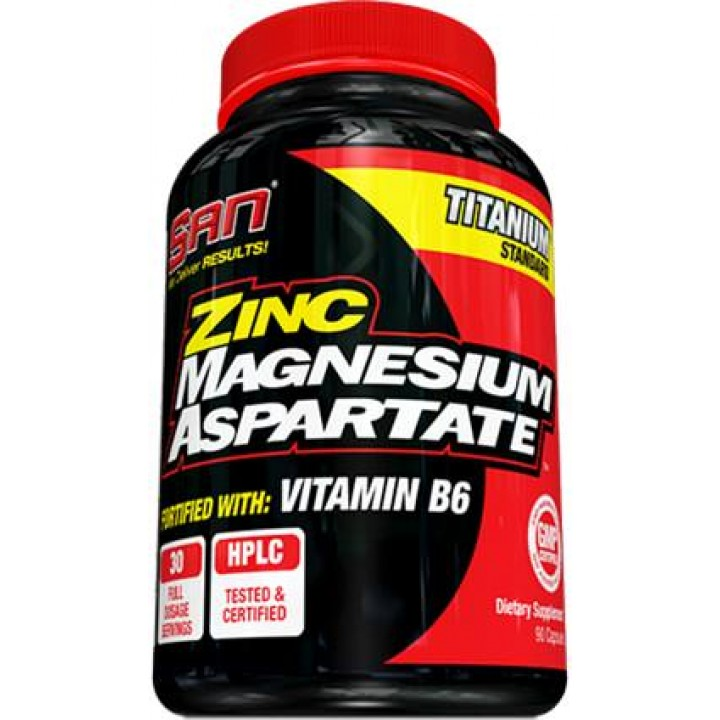 ЗМА ZMA SAN Zinc Magnesium Aspartate