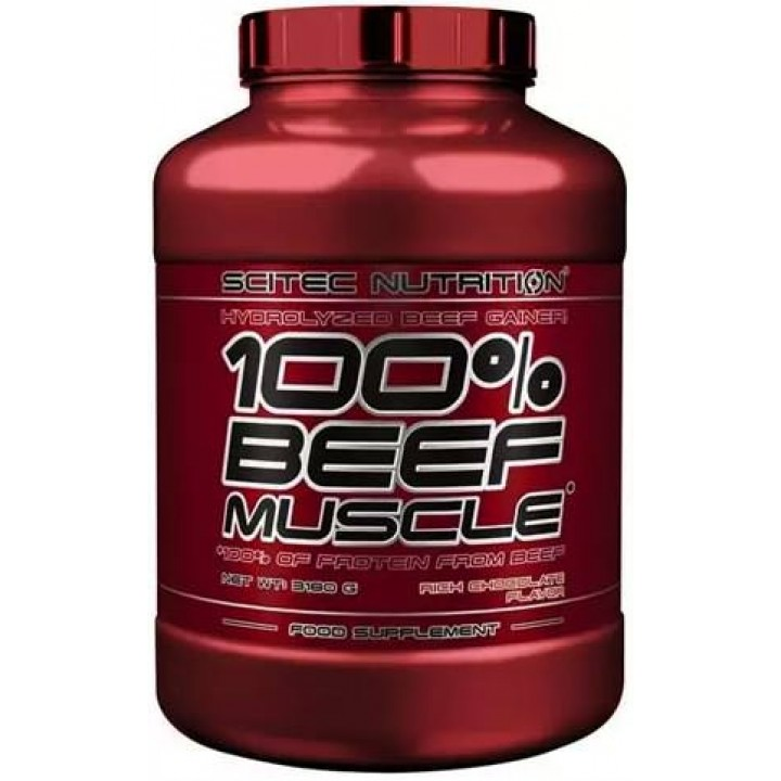 Гейнер Scitec Nutrition 100% Beef Muscle