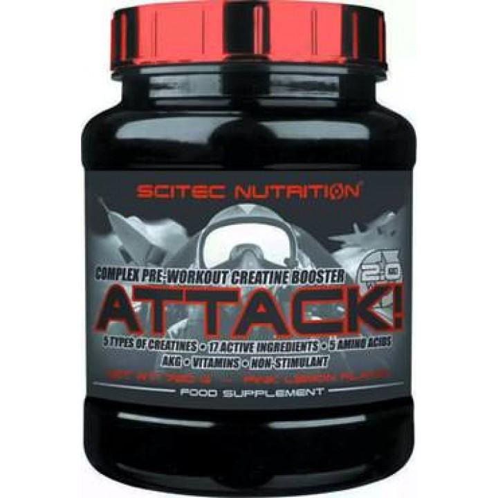 Предтренировочный комплекс Scitec Nutrition Attack 2.0