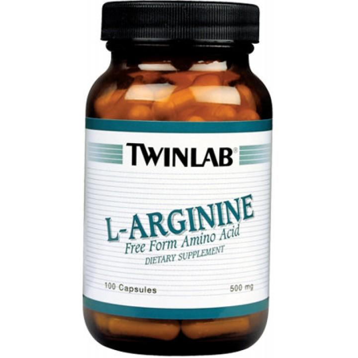 Аргинин Twinlab L-Arginine