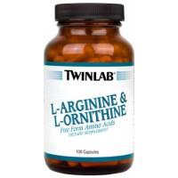 Аминокислоты Twinlab L-Arginine L-Ornithine