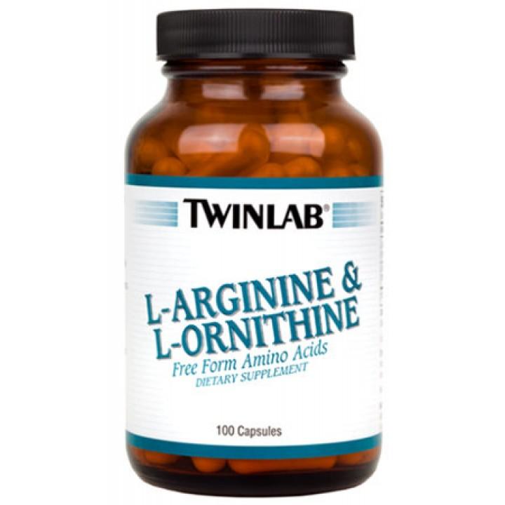 Аргинин Twinlab L-Arginine L-Ornithine