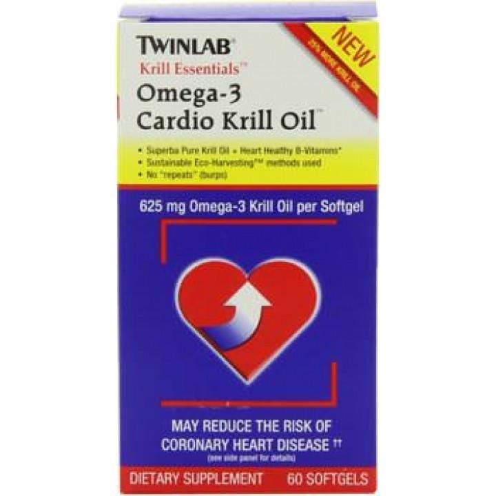 Омега-3 Twinlab Krill Essentials Omega-3 Cardio Krill Oil