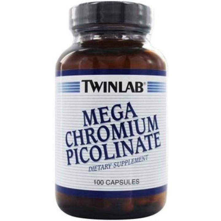 Пиколинат хрома Twinlab Mega Chromium Picolinate