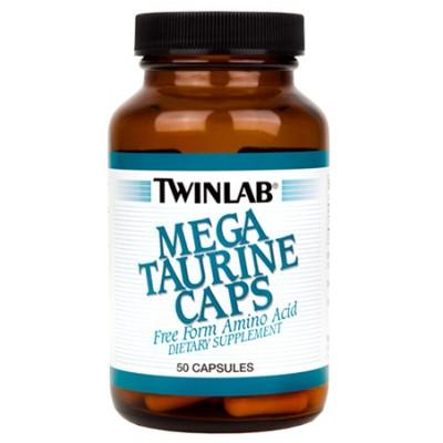 Таурин Twinlab Mega Taurine Caps