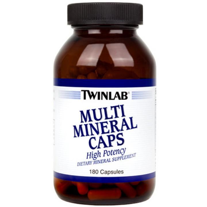 Минералы Twinlab Multi Mineral Caps