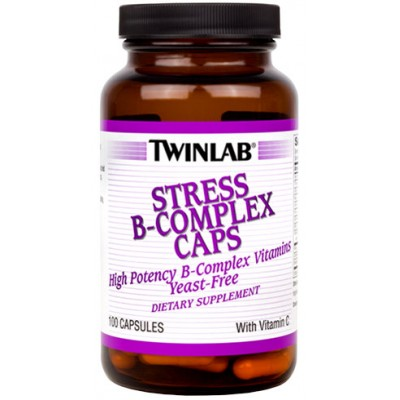 Витамины Twinlab Stress B-Complex Caps