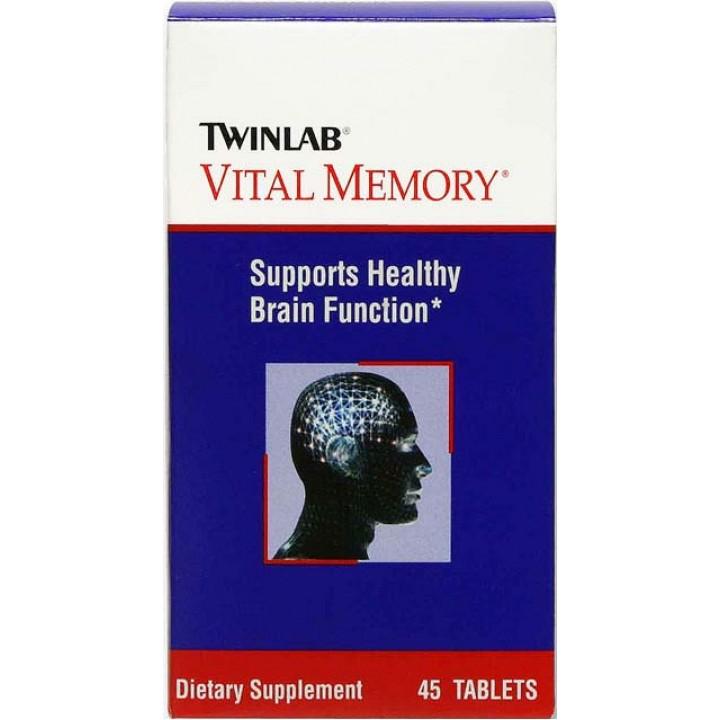 Витамины Twinlab Vital Memory