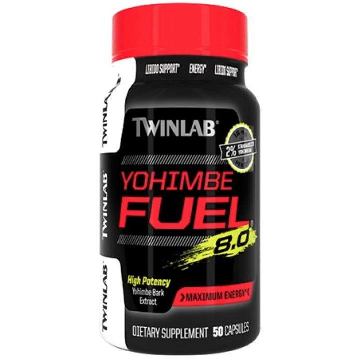 Йохимбин Twinlab Yohimbe Fuel