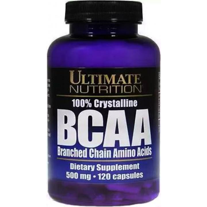 Аминокислоты Ultimate Nutrition 100% Crystalline BCAA 500mg