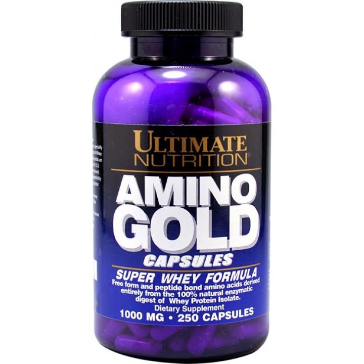 Аминокислоты и пептиды Ultimate Nutrition Amino Gold Capsules