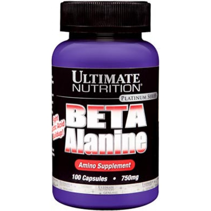 Бета-аланин Ultimate Nutrition Beta Alanine 750 мг