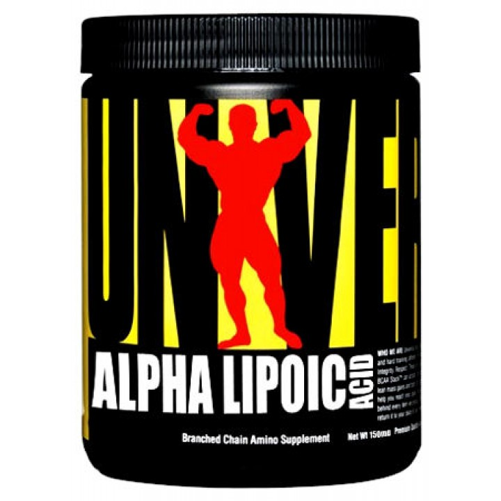 Альфа-липоевая кислота Universal Nutrition Alpha Lipoic Acid