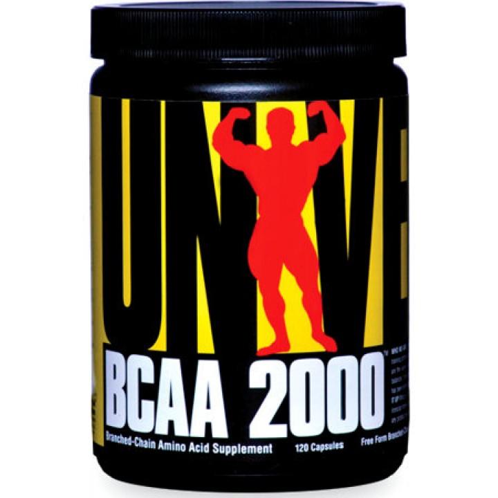 Аминокислоты Universal Nutrition BCAA 2000