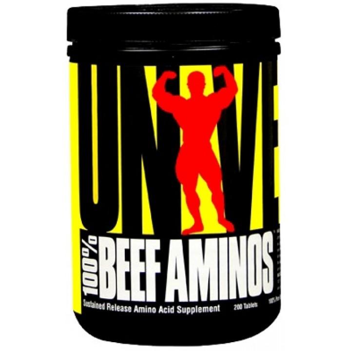 Аминокислоты Universal 100% Beef Aminos (200 таб)