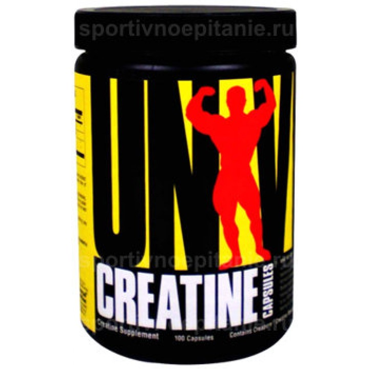 Креатин моногидрат Universal Nutrition Creatine Capsules