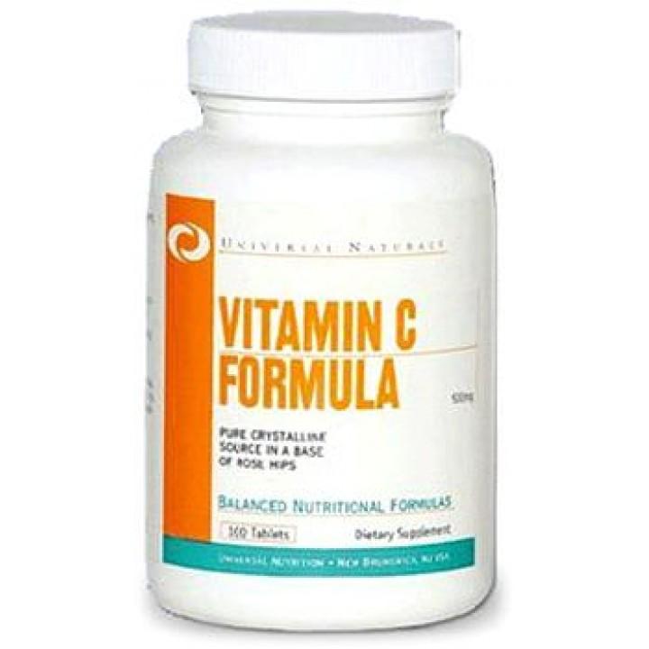 Витамин С Universal Nutrition Vitamin C Formula (100 таб)