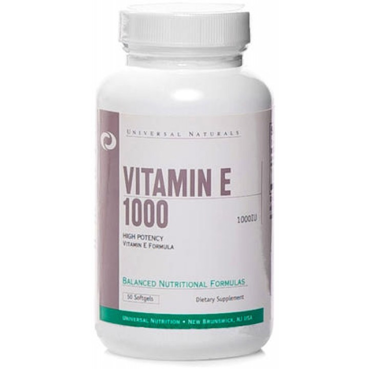 Витамин Е Universal Nutrition Vitamin E 1000