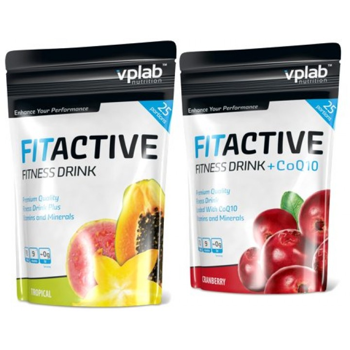 Изотонические напитки FitActive Fitness Drink Vplab