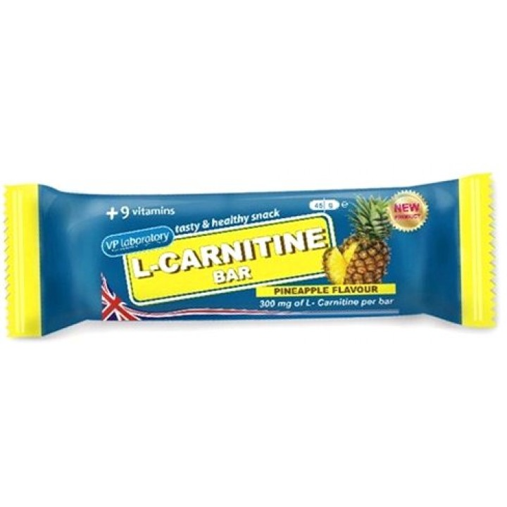 Батончик с карнитином Vplab L-Carnitine Bar