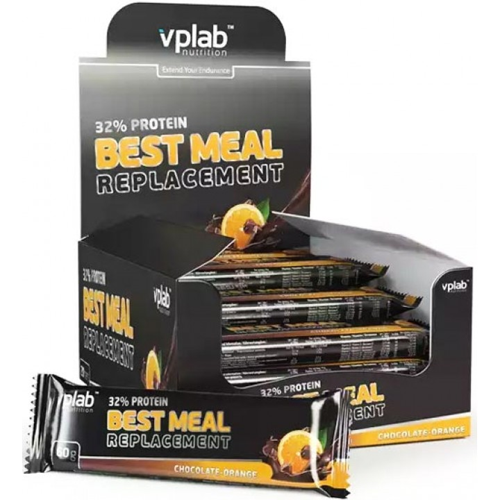Протеиновые батончики Vplab 32% Protein Best Meal Replacement
