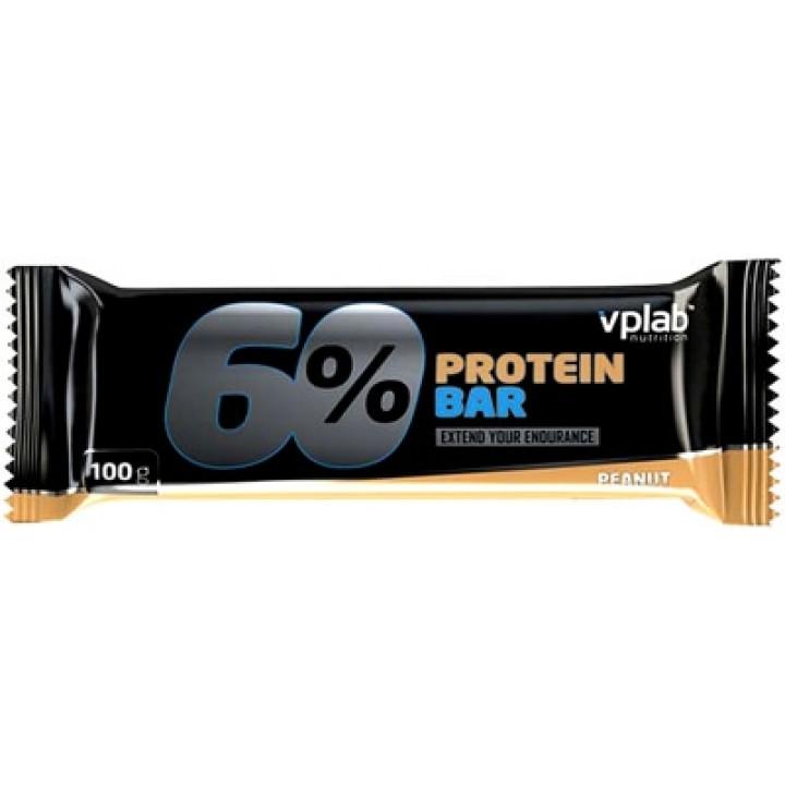 Протеиновые батончики Vplab 60% Protein bar