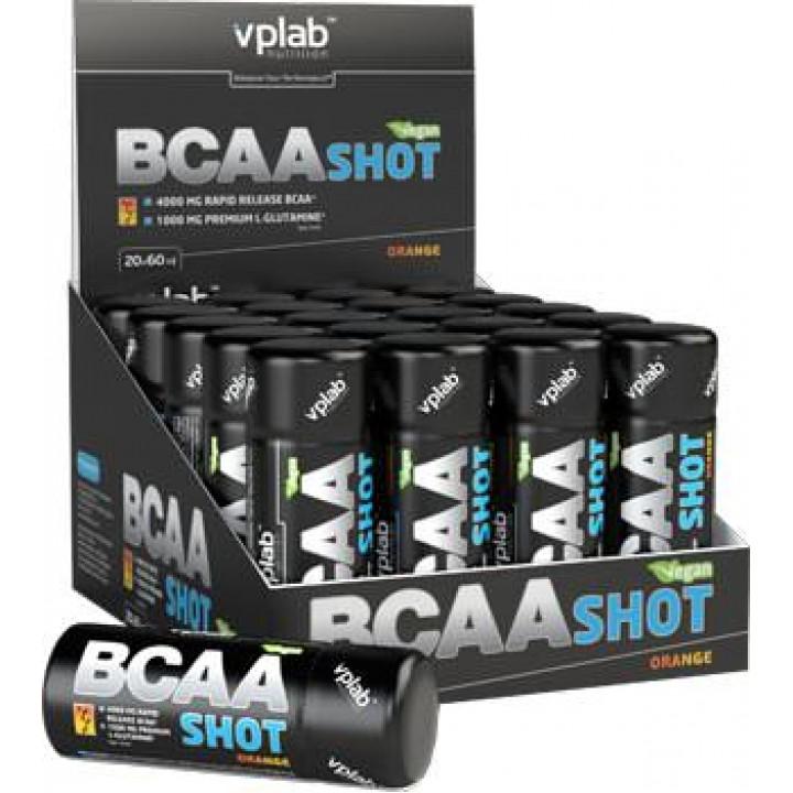 Аминокислоты Vplab BCAA Shot 20 шт