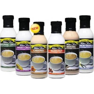 Бескалорийные сливки Walden Farms Coffee Creamer